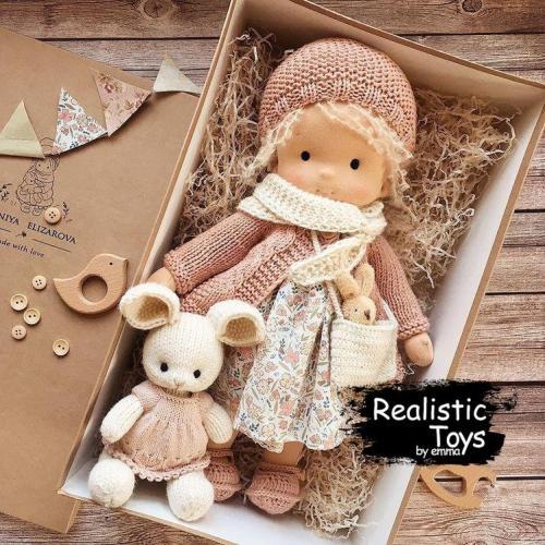 Emma Realistic Toys - Waldorf Doll Allison
