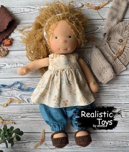 Emma Realistic Toys - Waldorf Doll Lydia