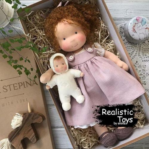Emma Realistic Toys - Waldorf Doll Juliette