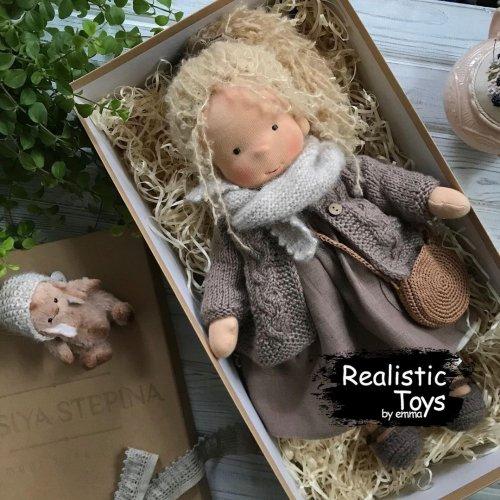 Emma Realistic Toys - Waldorf Doll Avery