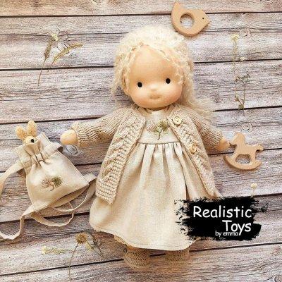 Waldorf Doll Adelynn,Soft Dolls For Infants