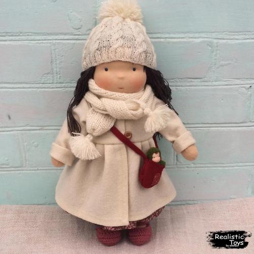 Emma Realistic Toys - Waldorf Doll Diya
