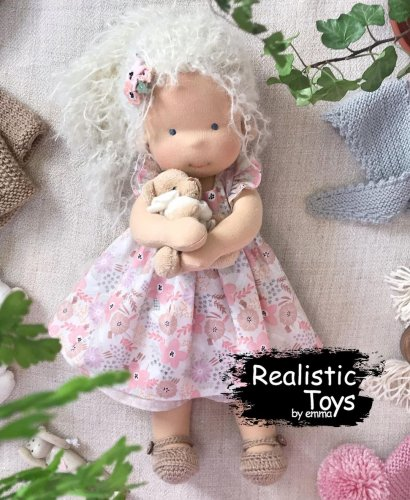 Waldorf Doll Zanna , Doll With Changeable Clothes