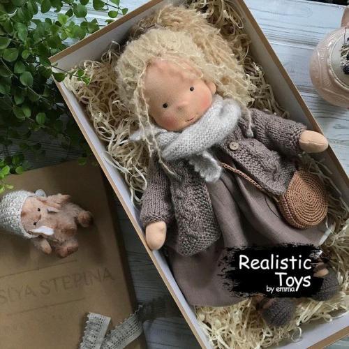 Emma Realistic Toys - Waldorf Doll Kamila