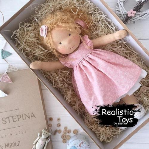 Emma Realistic Toys - Waldorf Doll Jamiya
