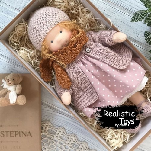 Waldorf Inspired Baby Doll Amanda For Sale , Christmas Gifts For Teens , Soft Baby Doll