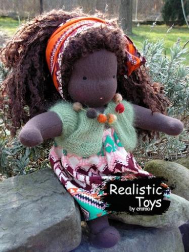 Emma Realistic Toys - Waldorf Doll  Ava