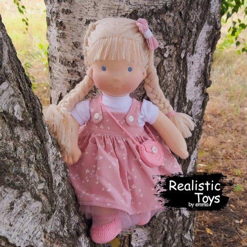 Emma Realistic Toys - Waldorf Doll  Naima