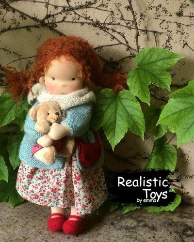 Waldorf Doll Alaina , Soft Baby Dolls For Infants , Soft Stuffed Dolls