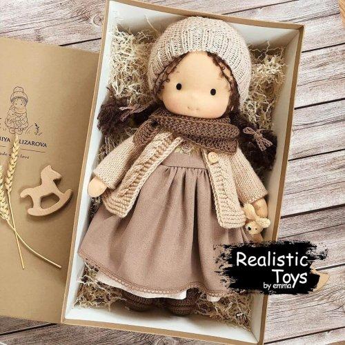 Waldorf Rag Doll Vera , Great Kid Christmas Gifts