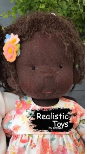Emma Realistic Toys - Waldorf Doll Brianna