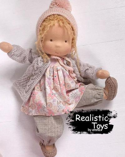 Emma Realistic Toys - Waldorf Doll Candice