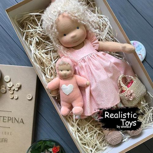 Waldorf Doll Dorothy , Soft Baby Dolls For Infants , Xmas Ideas For Kids