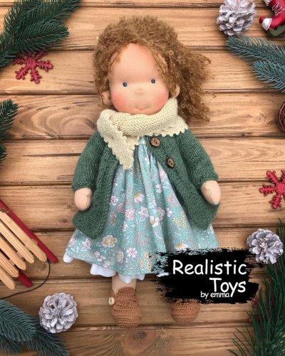 Emma Realistic Toys - Waldorf Doll Livia