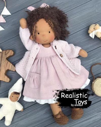 Emma Realistic Toys - Waldorf Doll Adalee