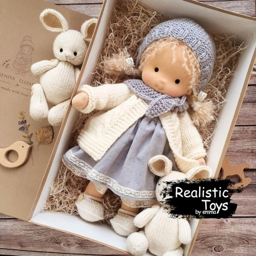 Waldorf Doll  Victoria, Soft Dolls For Babies