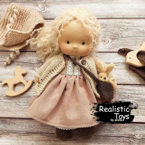 Emma Realistic Toys - Waldorf Doll Melinda