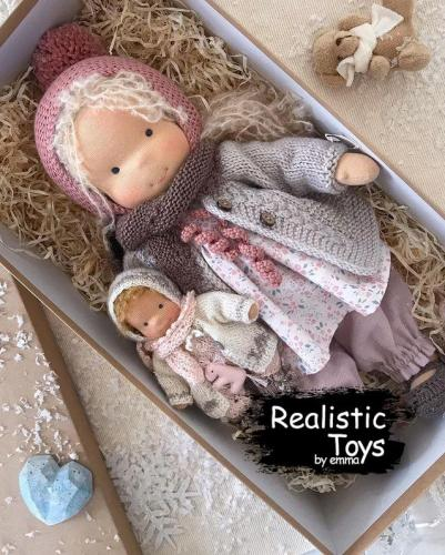 Emma Realistic Toys - Waldorf Doll Adelaide