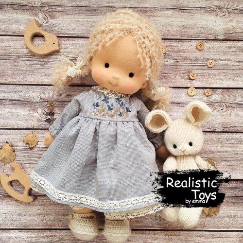 Emma Realistic Toys - Waldorf Doll Skye