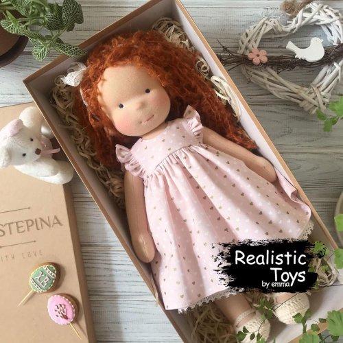 Emma Realistic Toys - Waldorf Doll Layla