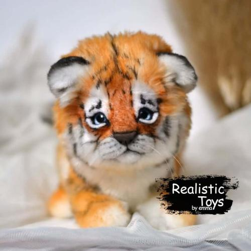 Emma Realistic Toys - Realistic Tiger Wilson