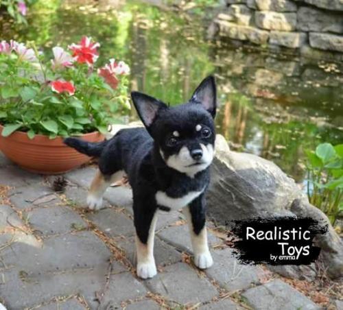 Emma Realistic Toys - Realistic Chihuahua Puppy Alice
