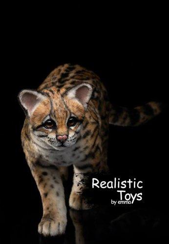 Emma Realistic Toys - Realistic & Lifelike Margay Wild Cat Rocky