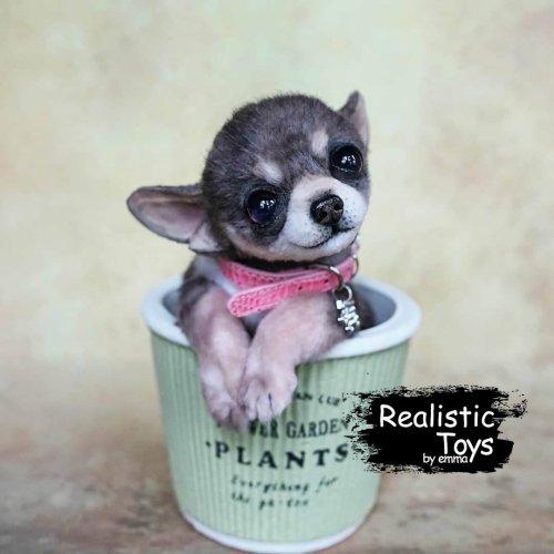 Emma Realistic Toys - Teacup Chihuahua Dog Jenna