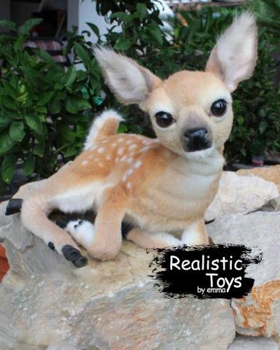 Emma Realistic Toys - Realistic & Lifelike Deer Champ