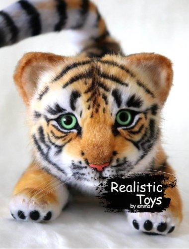 Emma Realistic Toys - Realistic Tiger Simba