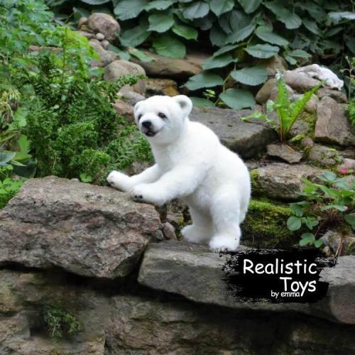 Emma Realistic Toys - Realistic & Lifelike Little Bear Sheba