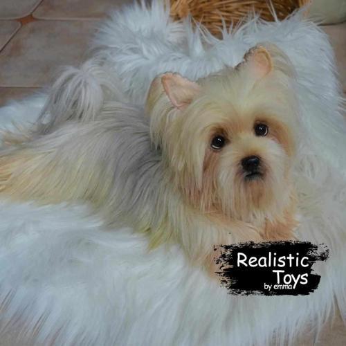 Emma Realistic Toys - Yorkie Dog Dora