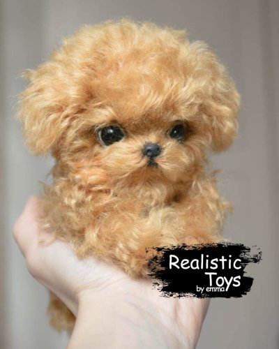 Emma Realistic Toys - Teacup Teddy Dog Dory