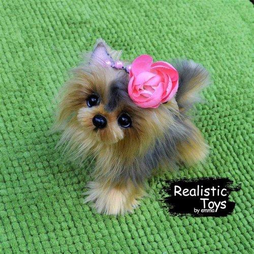 Emma Realistic Toys - Yorkie Dog Grace