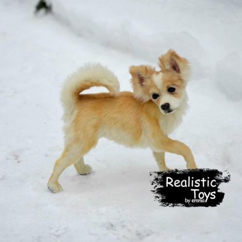 Emma Realistic Toys - Realistic Chihuahua Puppy Daisy