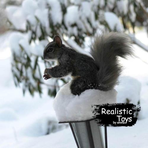 Emma Realistic Toys - Realistic & Lifelike Squirrel Sebastian