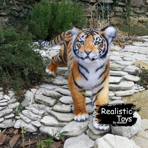 Emma Realistic Toys - Realistic Tiger Cheetos