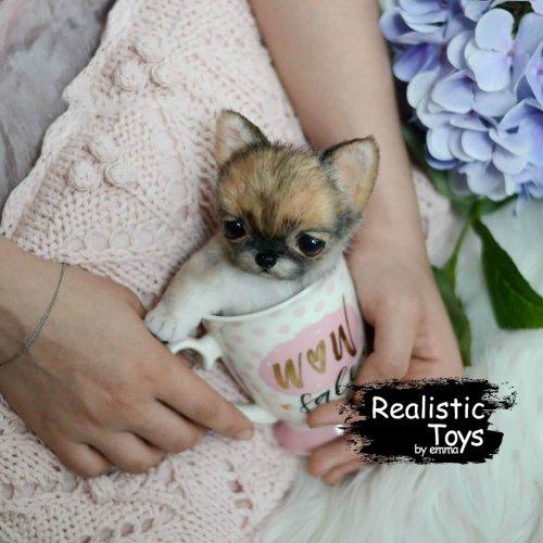 Emma Realistic Toys - Teacup Chihuahua Dog Mila