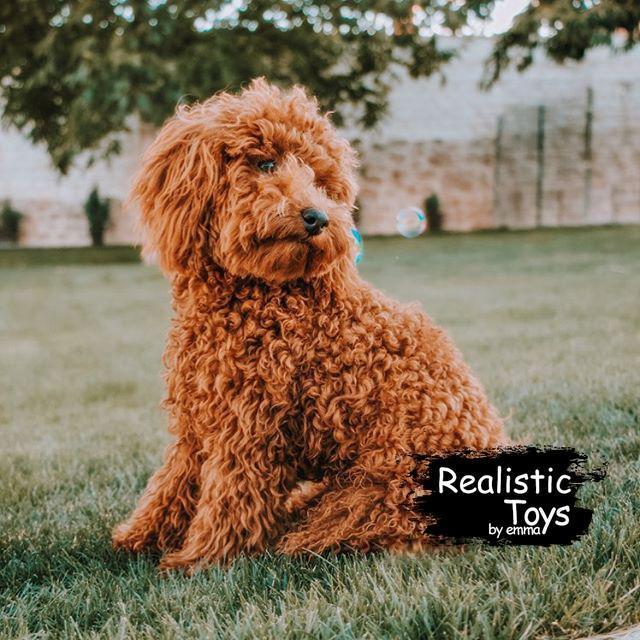 Emma Realistic Toys - Realistic & Lifelike Teddy Dog Nova