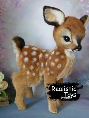 Emma Realistic Toys - Realistic & Lifelike Deer Brock