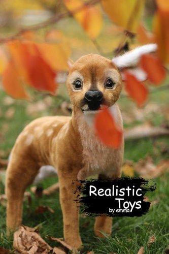 Emma Realistic Toys - Realistic & Lifelike Deer Cosmo