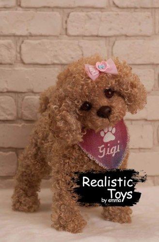Emma Realistic Toys - Realistic & Lifelike Teddy Dog Gigi