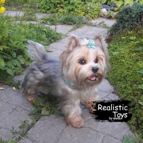 Emma Realistic Toys - Yorkie Dog Zoya