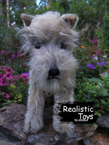 Emma Realistic Toys - Schnauzer Dog Levi