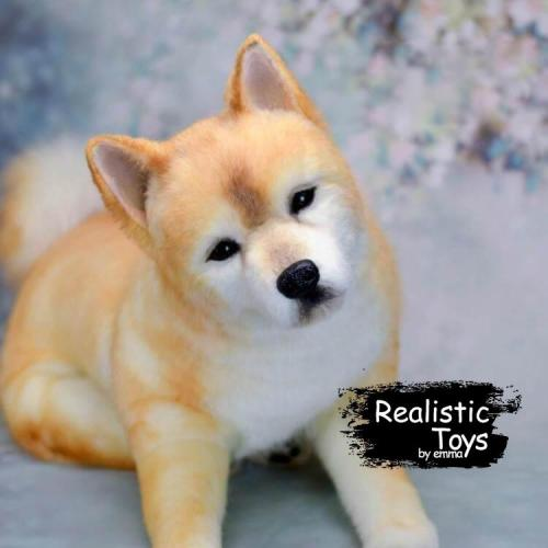 Emma Realistic Toys - Realistic & Lifelike Akita Inu Dog Orion