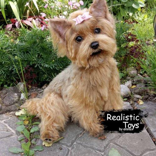 Emma Realistic Toys - Yorkie Dog Nana