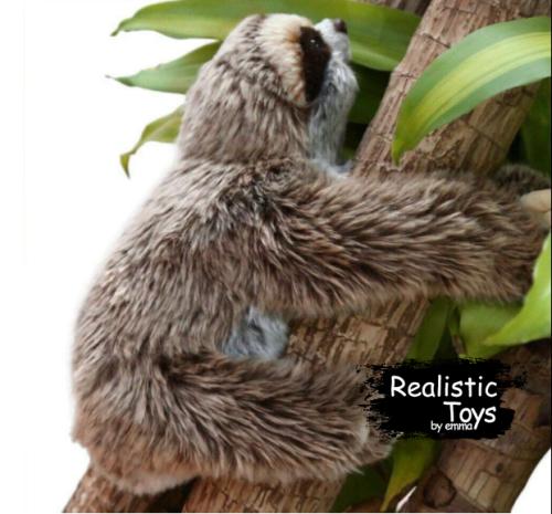 Emma Realistic Toys - Realistic & Lifelike Sloth Oscar