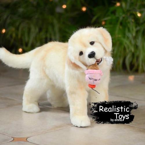 Emma Realistic Toys - Realistic Labrador Retriever Puppy Mia