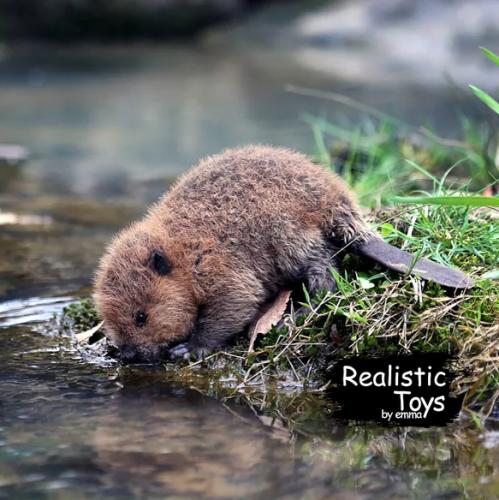Emma Realistic Toys - Realistic & Lifelike Otter Chana
