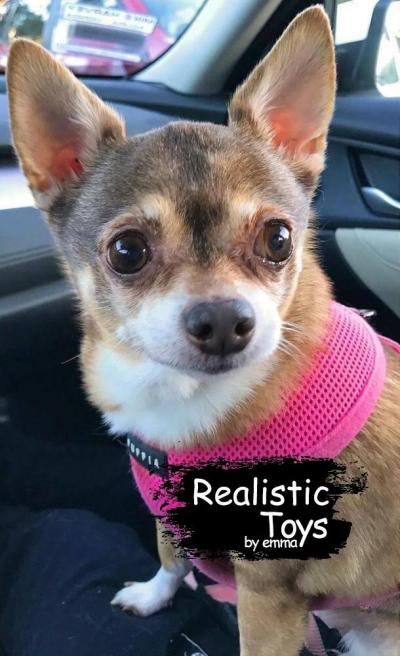 Emma Realistic Toys - Realistic Chihuahua Puppy Cleo